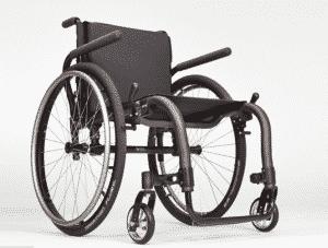 chrome manual wheelchair