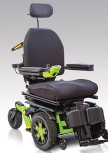 Pride power wheelchair