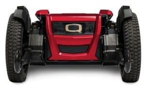 red quantum power wheelchair