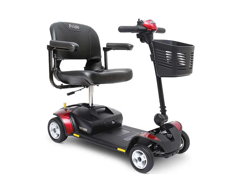 red Pride mobility scooter