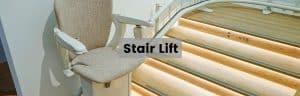 stair lift header