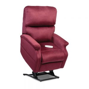 Red seat lift with remote control