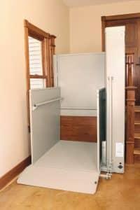 indoor vertical residential platform lift