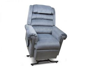 grey seat lift with remote control