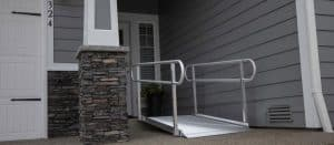 semi permanent ramp for home