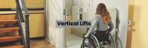 vertical lift header